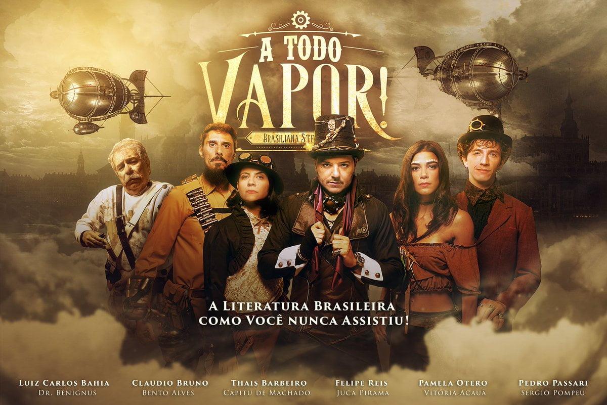 A Todo Vapor - Brasiliana Steampunk