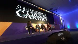 Affonso Solano lança trailer Espadachim de Carvão na CCXP