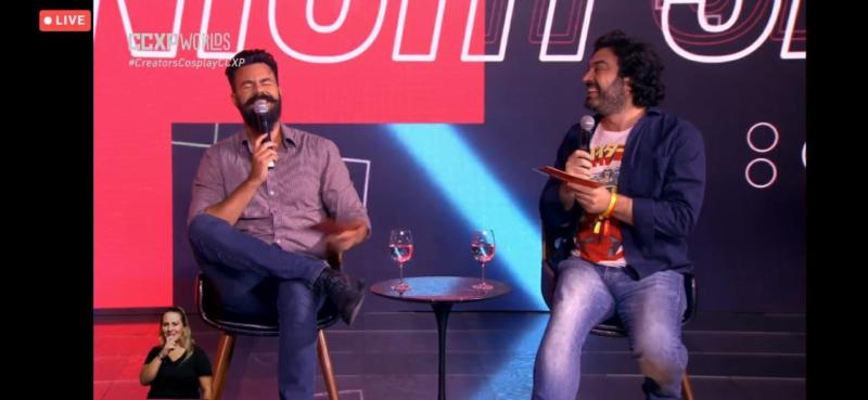 Affonso Solano e Diogo Braga comandam Talk Show na CCXP Worlds