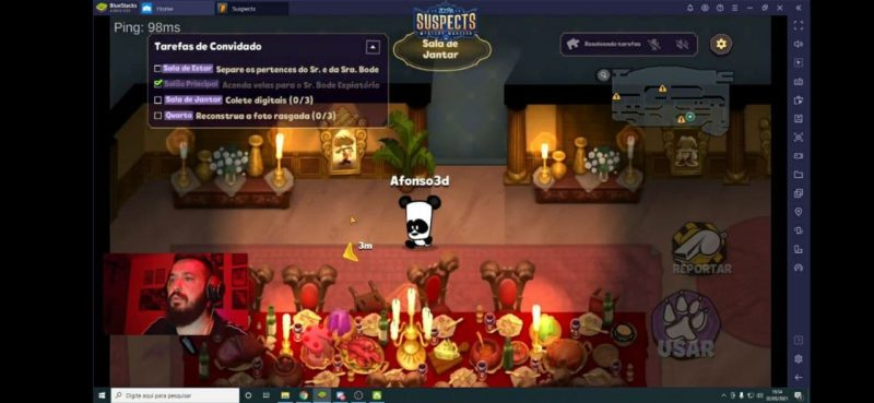 EPIC Digitais promove lançamento na Twitch do game Suspects: Mystery Mansion