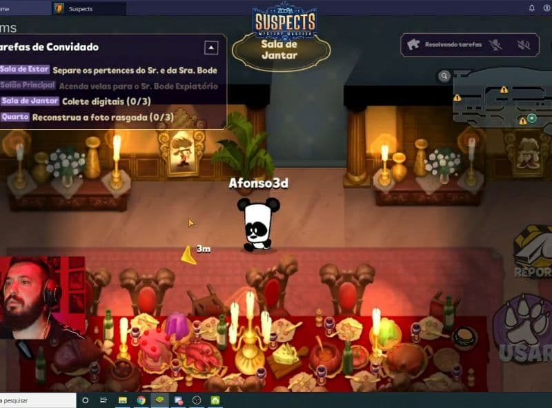 EPIC Digitais promove lançamento na Twitch do game Suspects: Mystery Mansion