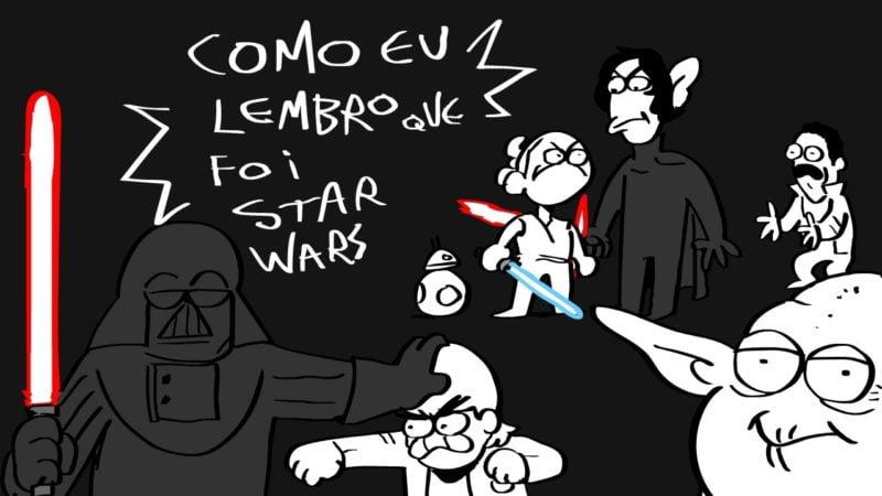 Rabisco cria animação sobre a sua visão da saga cinematográfica Star Wars para lançamento da nova coleção da Chilli Beans