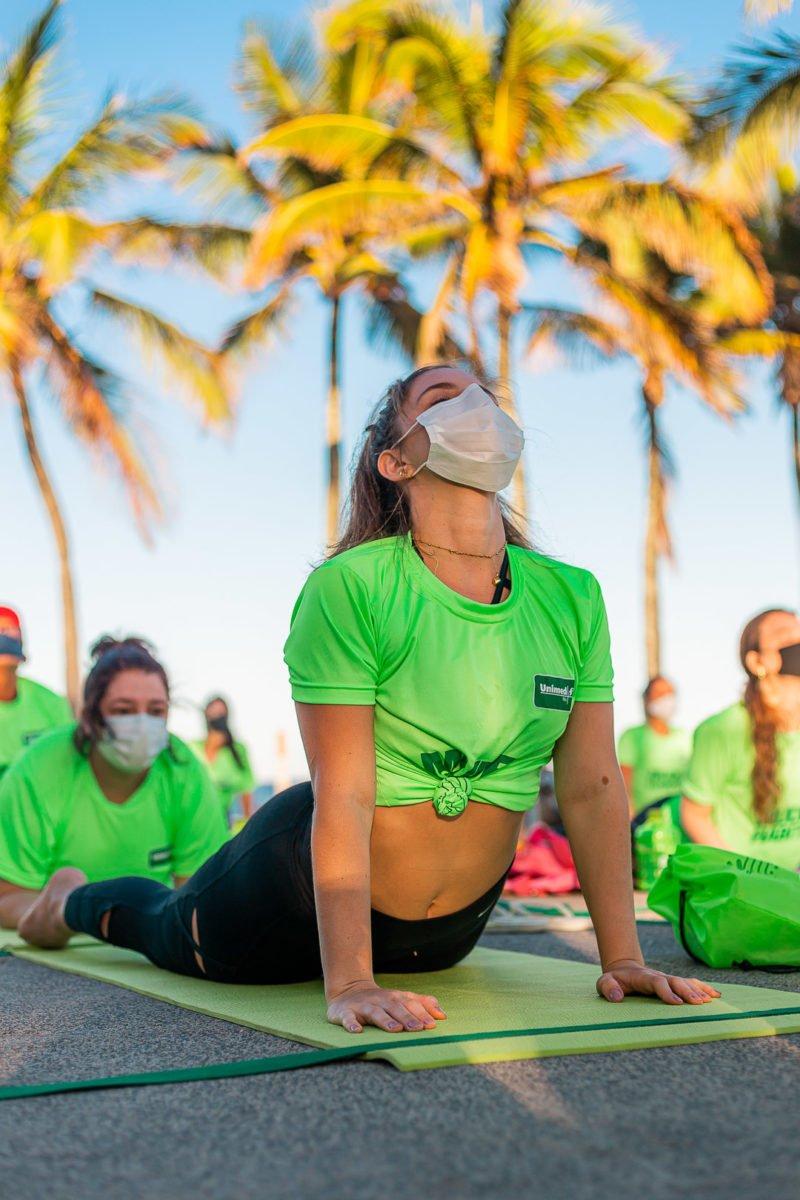 Thaísa Leal e Unimed Rio promovem projeto Mude 1 Hábito